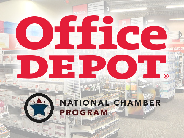 Save on Office Supplies and More with the Office Depot National Chamber Program