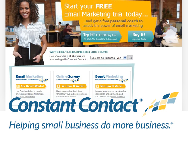Up to 25% off Digital Marketing with Constant Contact